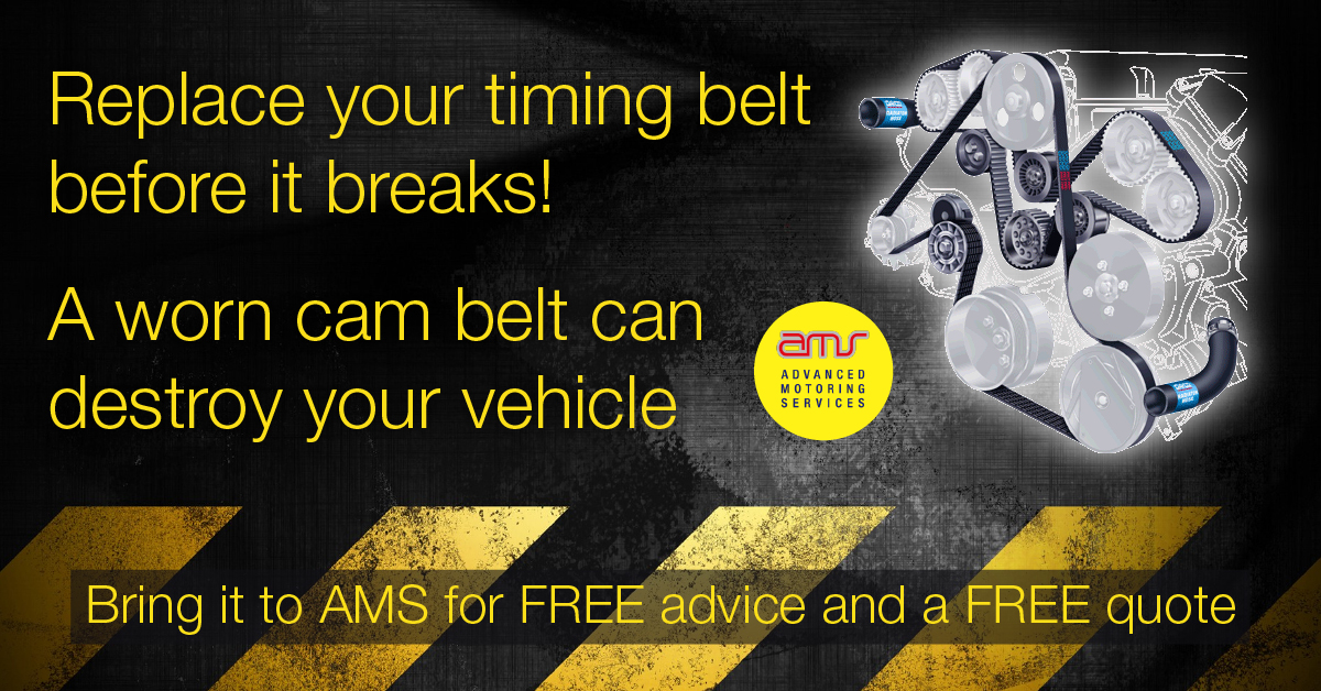 Replace your timing belt