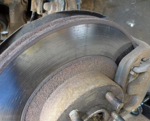 Worn Brakes