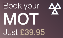 Book your MOT for £39.95