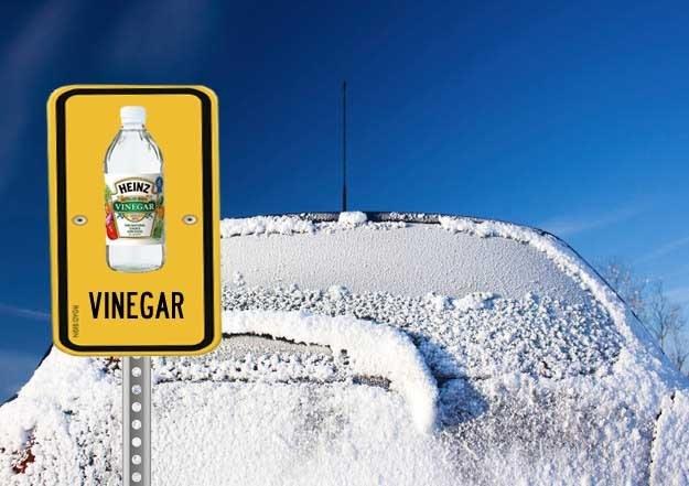 Iced over car