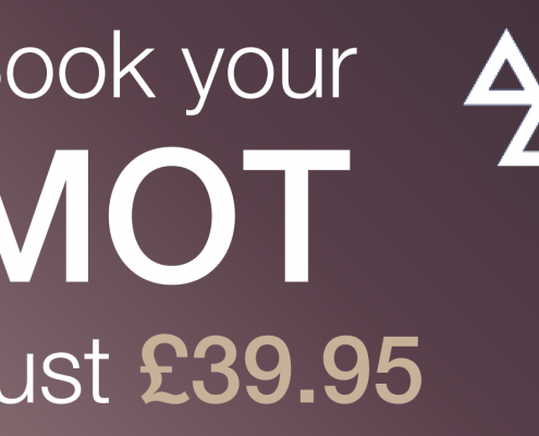Book your MOT for just £39.95